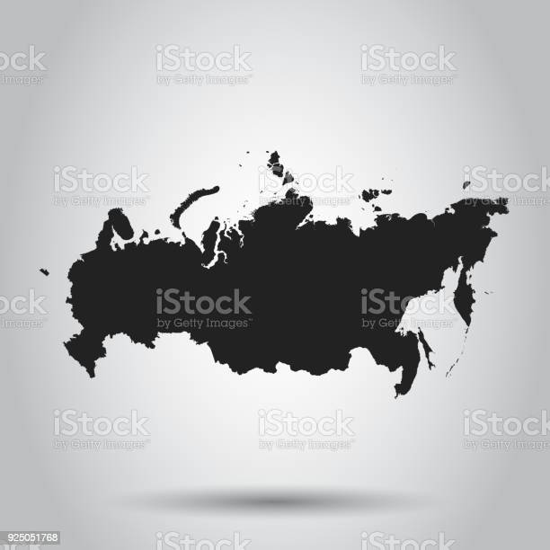 Russia map icon flat vector illustration russia sign symbol with on vector id925051768?b=1&k=6&m=925051768&s=612x612&h=0czsho8lxjq1cvm qq dl3mchqlvjdnkzme8ho072qa=