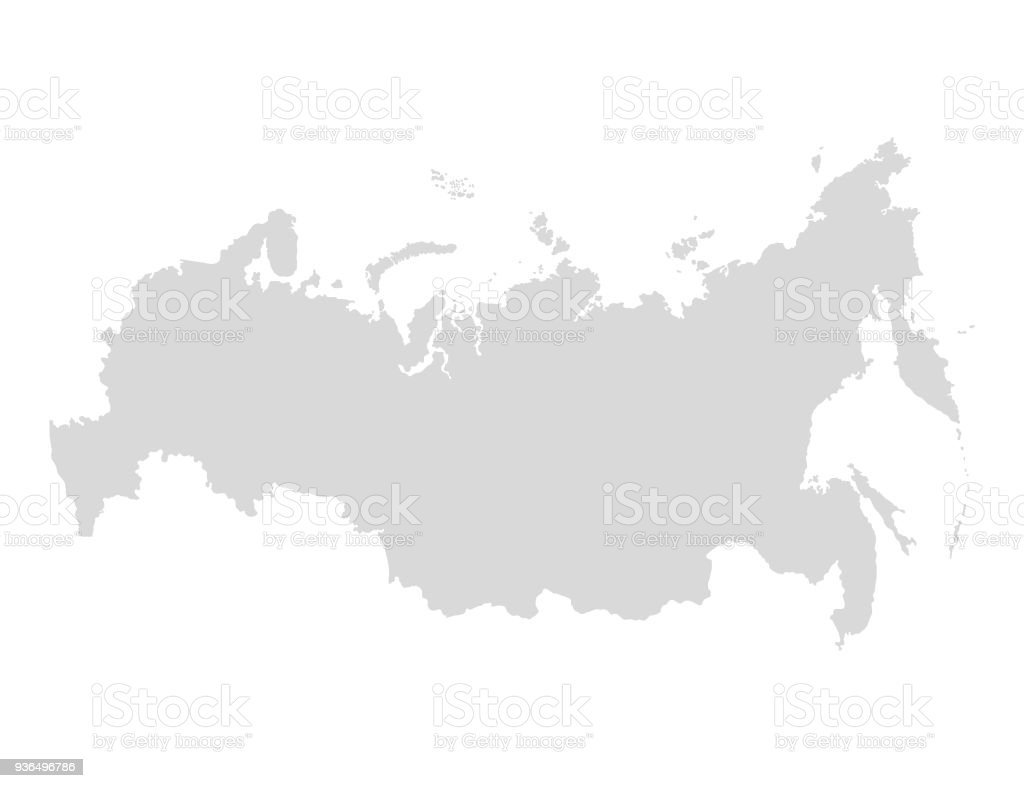 Russia map icon vector illustration gray on a white background stock russia map icon vector illustration gray on a white background royalty free gumiabroncs Image collections