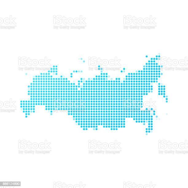 Russia map of blue dots on white background vector id886124890?b=1&k=6&m=886124890&s=612x612&h=v5z eguhqpfcdh9spipkfrvtdjh6icgziwlnftaruho=