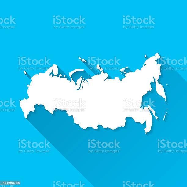 Russia map on blue background long shadow flat design vector id491668756?b=1&k=6&m=491668756&s=612x612&h=nvhz0mywgvkisyedk3frwj41o5o qi5ibtldnb7fadu=