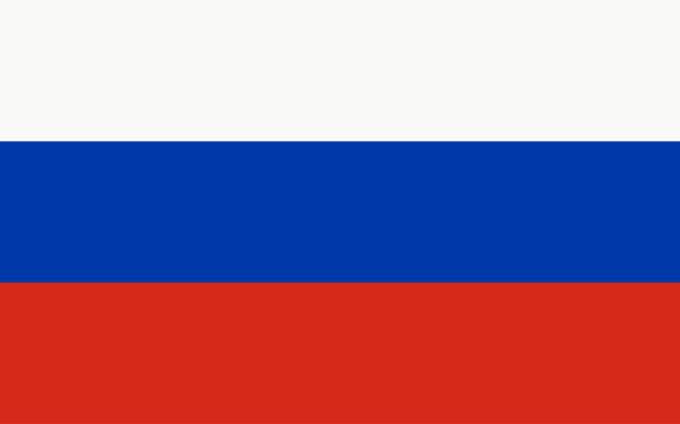 ilustraciones, imágenes clip art, dibujos animados e iconos de stock de vector bandera de rusia - rusia