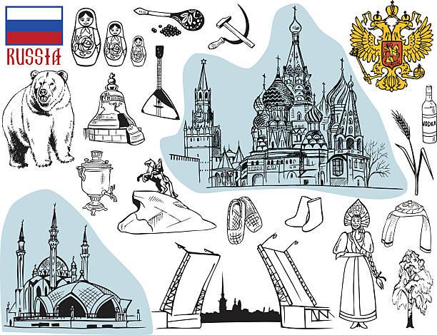 stockillustraties, clipart, cartoons en iconen met russia - sint petersburg rusland