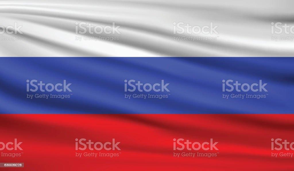 En Russie  - Illustration vectorielle