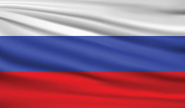 russia - russian flag stock illustrations, clip art, cartoons, & icons