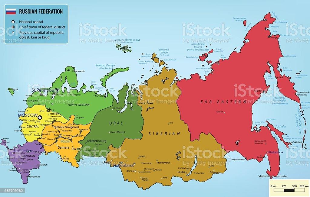 Russische Föderation Karte | goudenelftalRussische Foederation