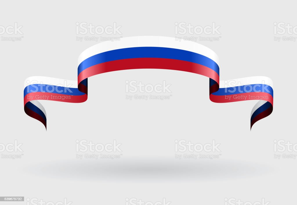 Fond de drapeau russe. illustration vectorielle. - Illustration vectorielle