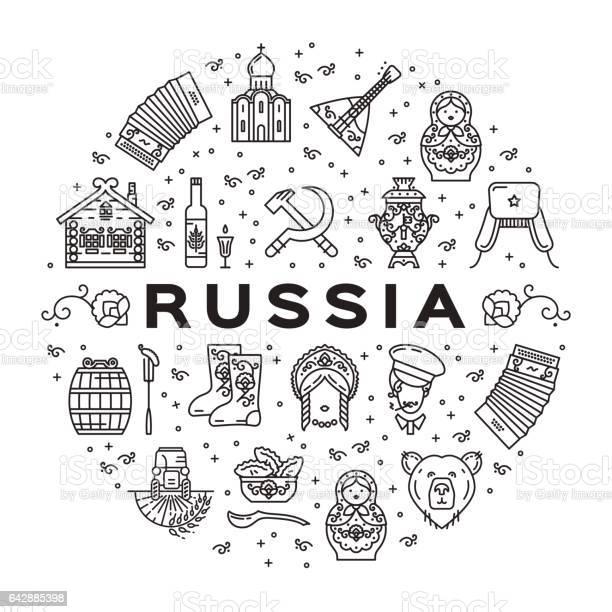 Russian line icons circle infographics russian traditional symbols vector id642885398?b=1&k=6&m=642885398&s=612x612&h=ma32s8xhe7kbggv4gifg5lhfssqawzanu0olk61mvwy=