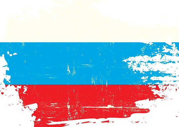 illustrations, cliparts, dessins animés et icônes de rayé drapeau russe - drapeau russe