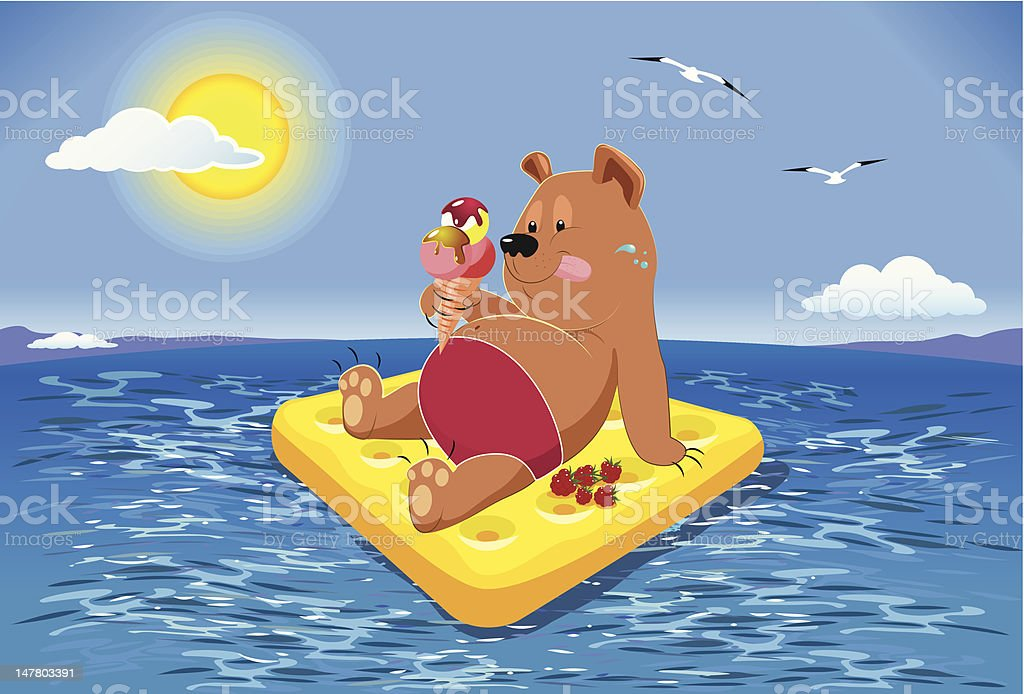 Russian to rest. royalty-free russian to rest stock vector art & more images of bear