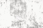 Rusted metal industrial distress background. Grunge black and white vector texture template for overlay artwork.
