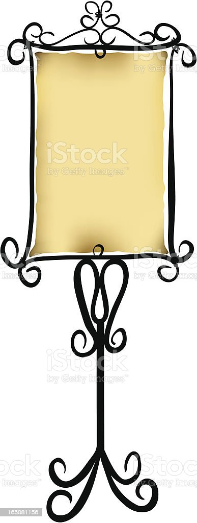 Rustic sign royalty-free rustic sign stock vector art & more images of black color