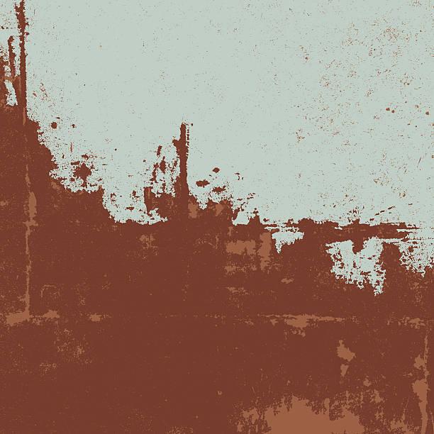 stockillustraties, clipart, cartoons en iconen met rusty texture. grunge background - roestig