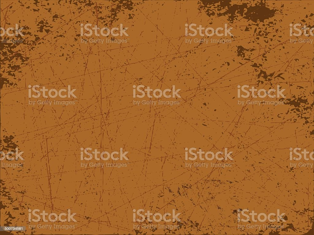 Rusty vector art illustration