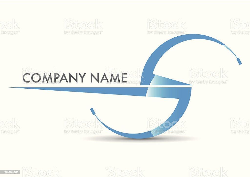 Der name des Unternehmens – Vektorgrafik