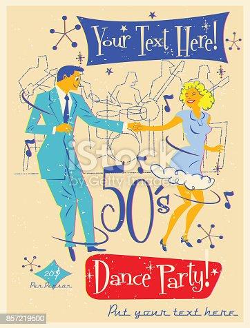 istock 50´s Dance Party 857219500