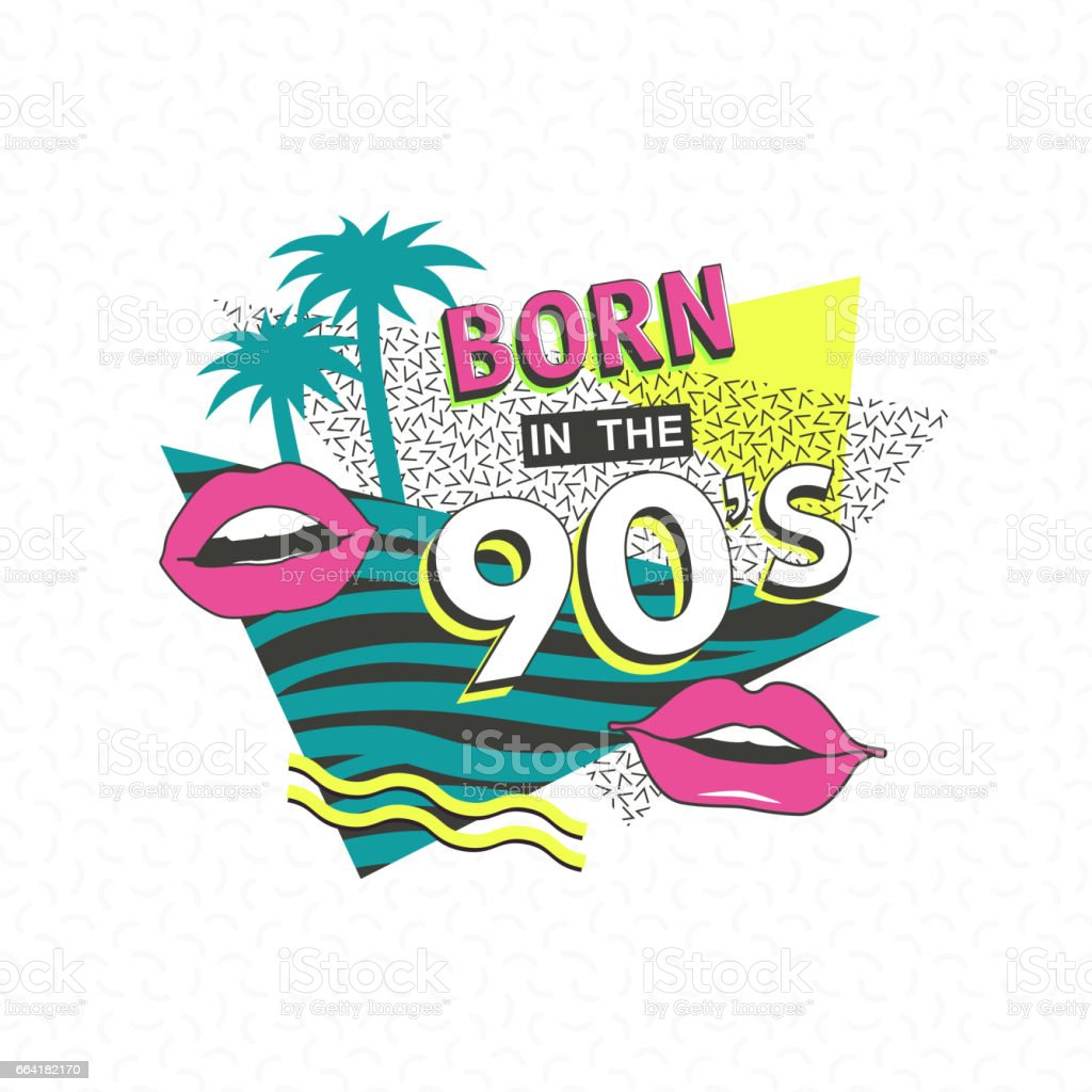 90s poster for carnival stock vector art amp more images of