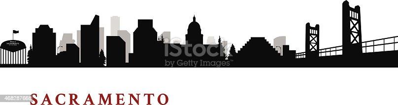 Sacramento California Cityscape