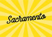 Sacramento Lettering Design