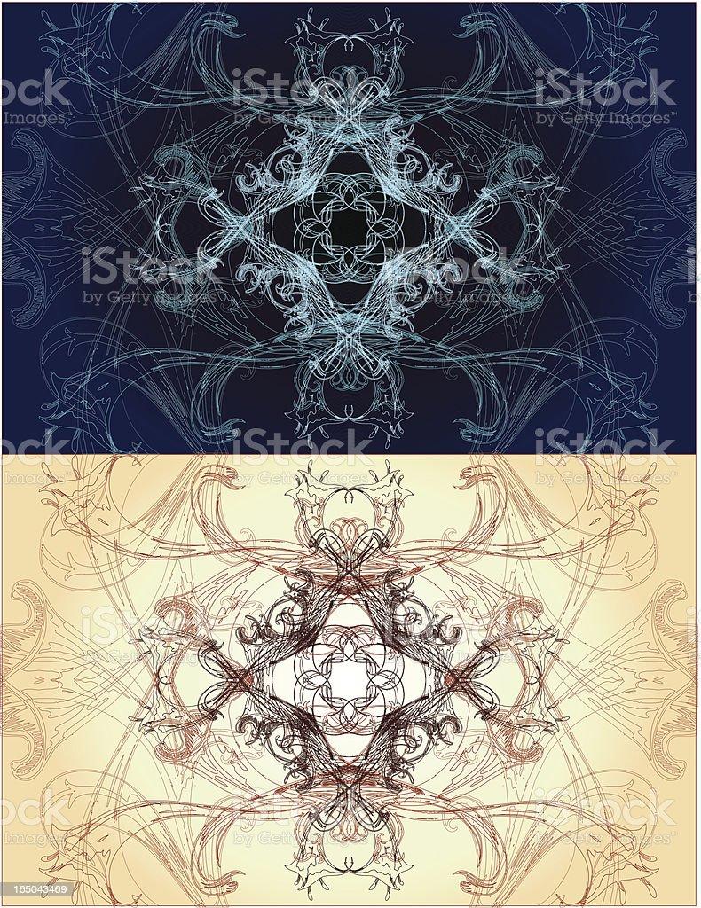 sacred geometry series royalty-free stock vector art