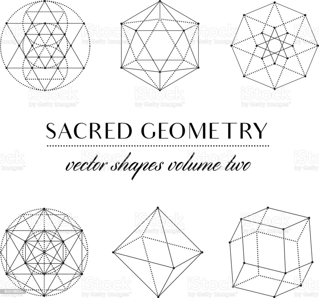 sacred geometry volume two stock vector art more images of