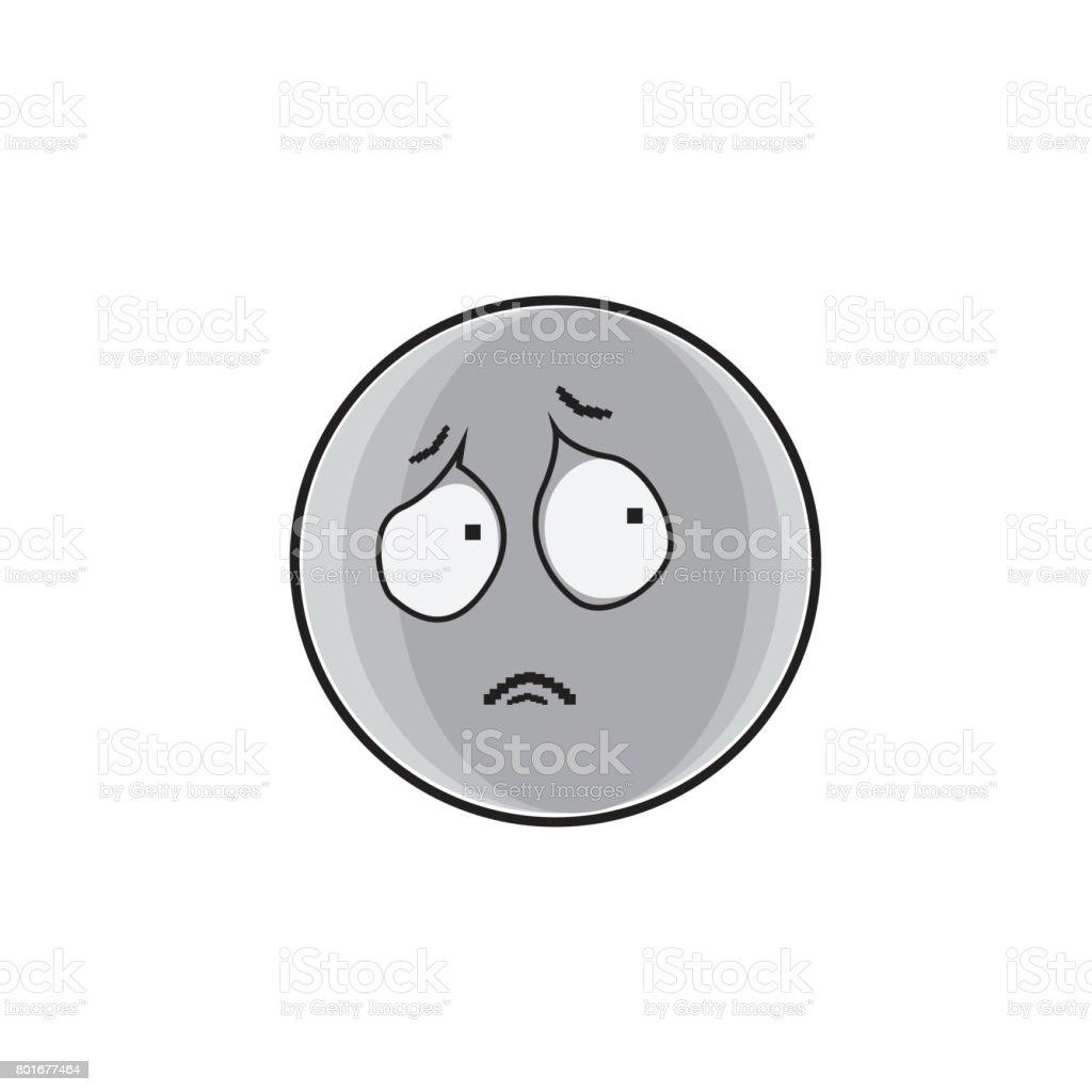 Vetores De Desenhos Animados Triste Rosto Expressão Pessoas