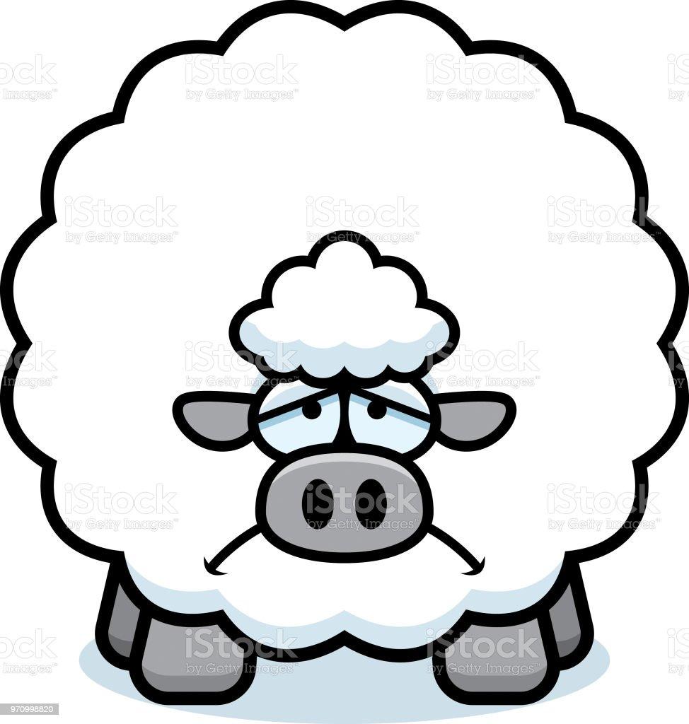 Dessin anim triste mouton cliparts vectoriels et plus d - Mouton dessin anime ...