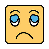sad  disappointed   face