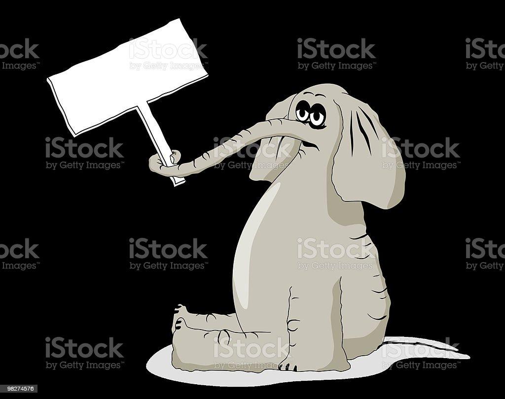 Sad Elephant Cartoon royalty-free sad elephant cartoon stock vector art & more images of animal
