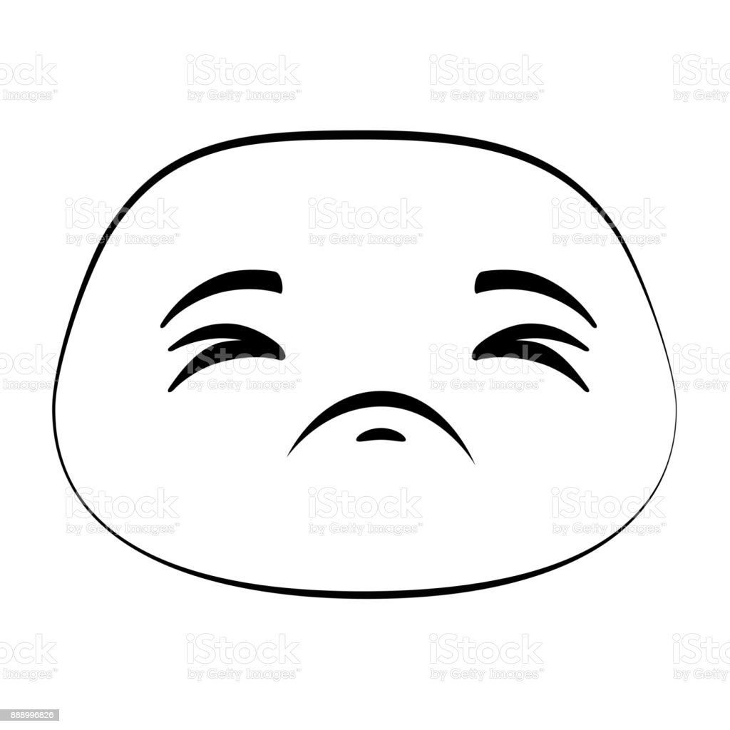 sad emoji face icon stock vector art more images of avatar