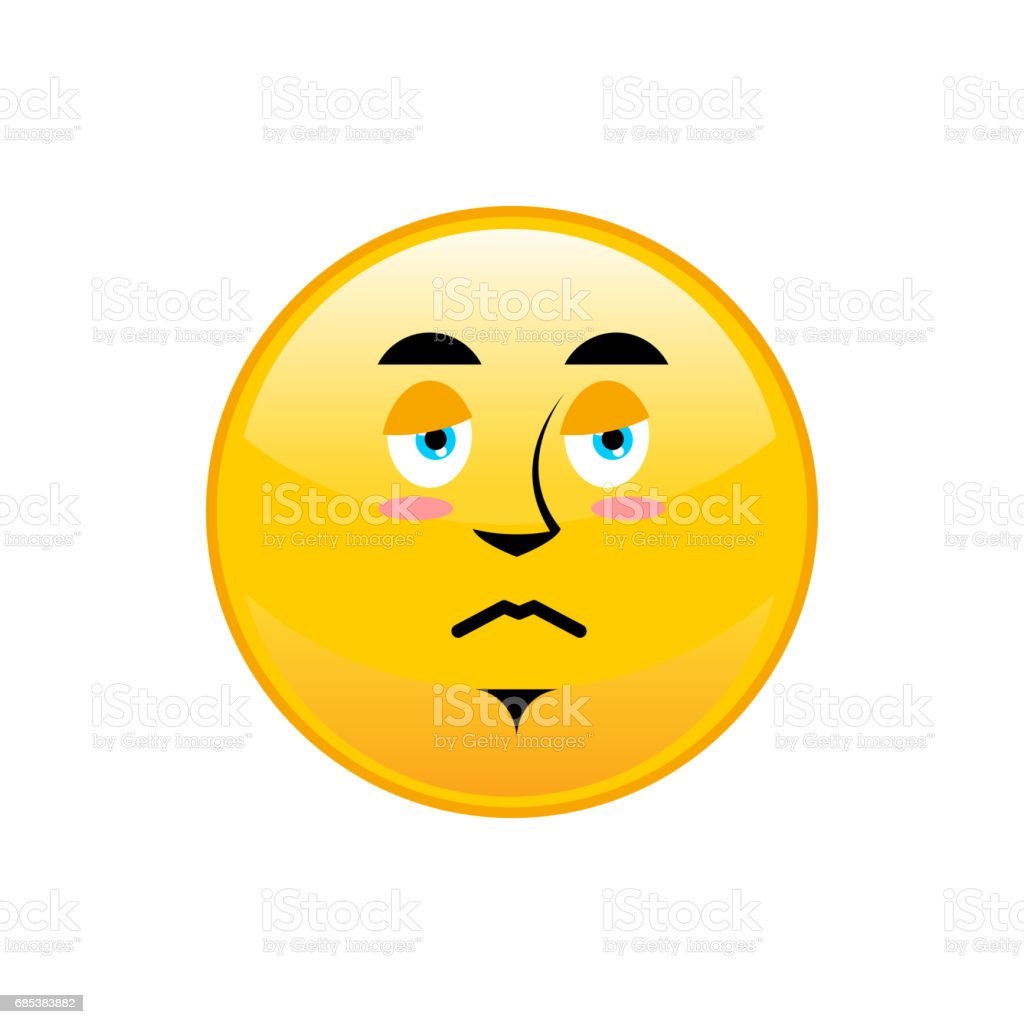 Sad Emoji isolated. dull yellow circle emotion isolated royalty-free sad emoji isolated dull yellow circle emotion isolated stock vector art & more images of disappointment