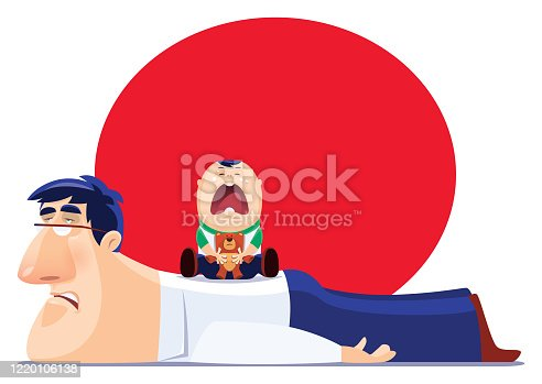 istock sad father with crying son 1220106138