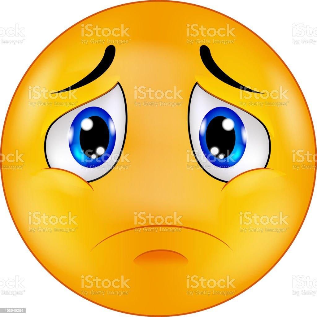 Sad smiley emoticon cartoon stock vector art more images of 2015 sad smiley emoticon cartoon royalty free sad smiley emoticon cartoon stock vector art amp buycottarizona Choice Image