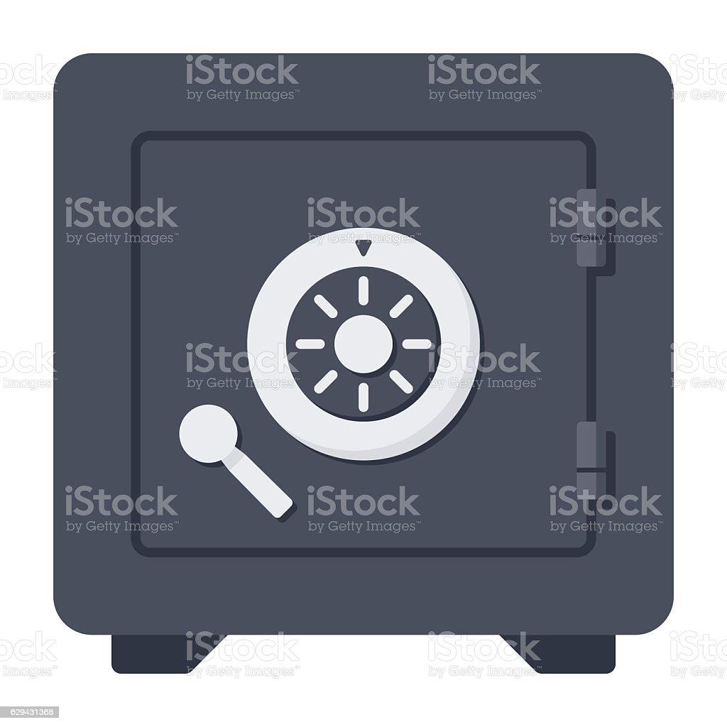 Safe Vector Icon vector art illustration