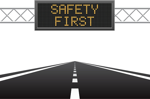 Safety first on LED screen