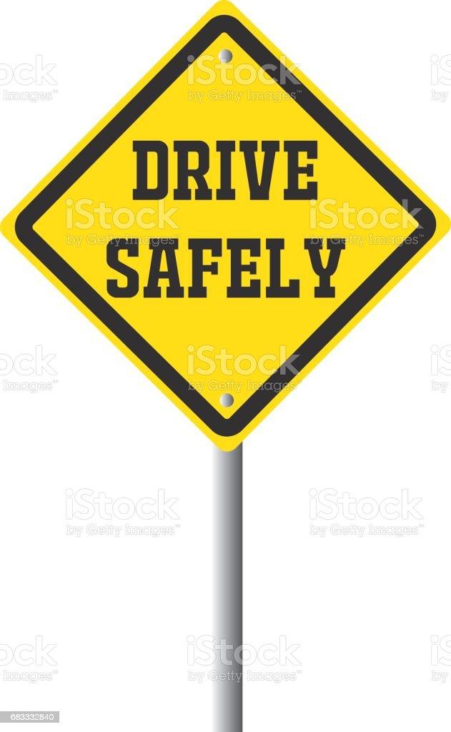 Safety first traffic sign illustration. Safety concept. royalty-free safety first traffic sign illustration safety concept stock vector art & more images of alertness