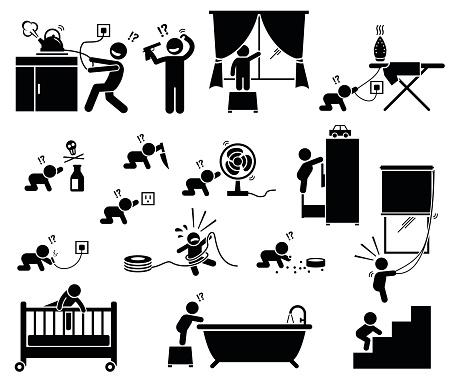 Safety hazard at home for children.
