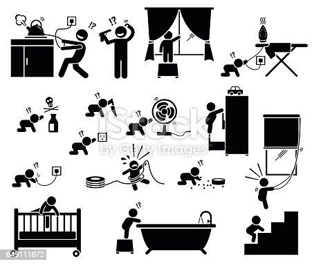 istock Safety hazard at home for children. 649111672