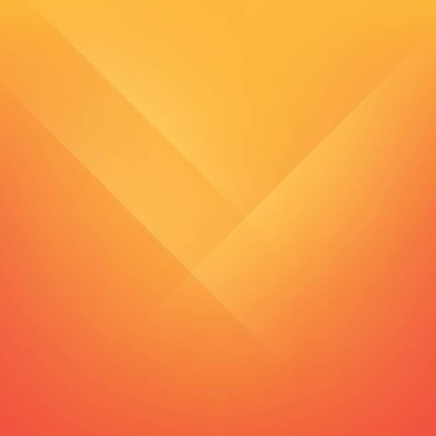 bildbanksillustrationer, clip art samt tecknat material och ikoner med säkerhet orange minimal vik linje bakgrund - orange bakgrund