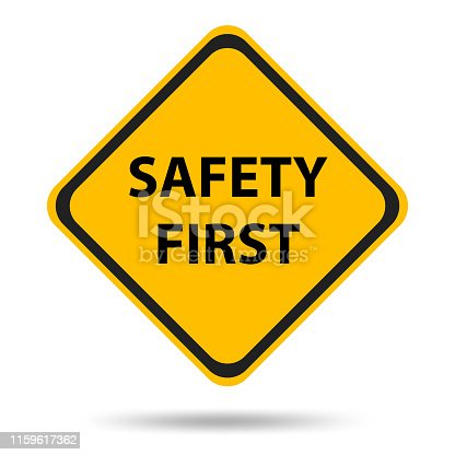 istock Safety symbols and signs first 1159617362