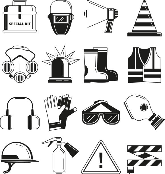 Royalty Free Personal Protective Equipment Clip Art Vector Images