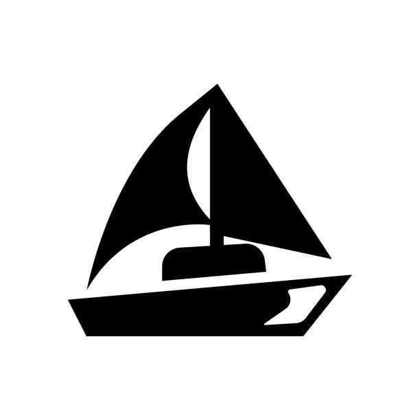 Sailboat icon. Trendy Sailboat logo concept on white background from Transportation collection vector art illustration
