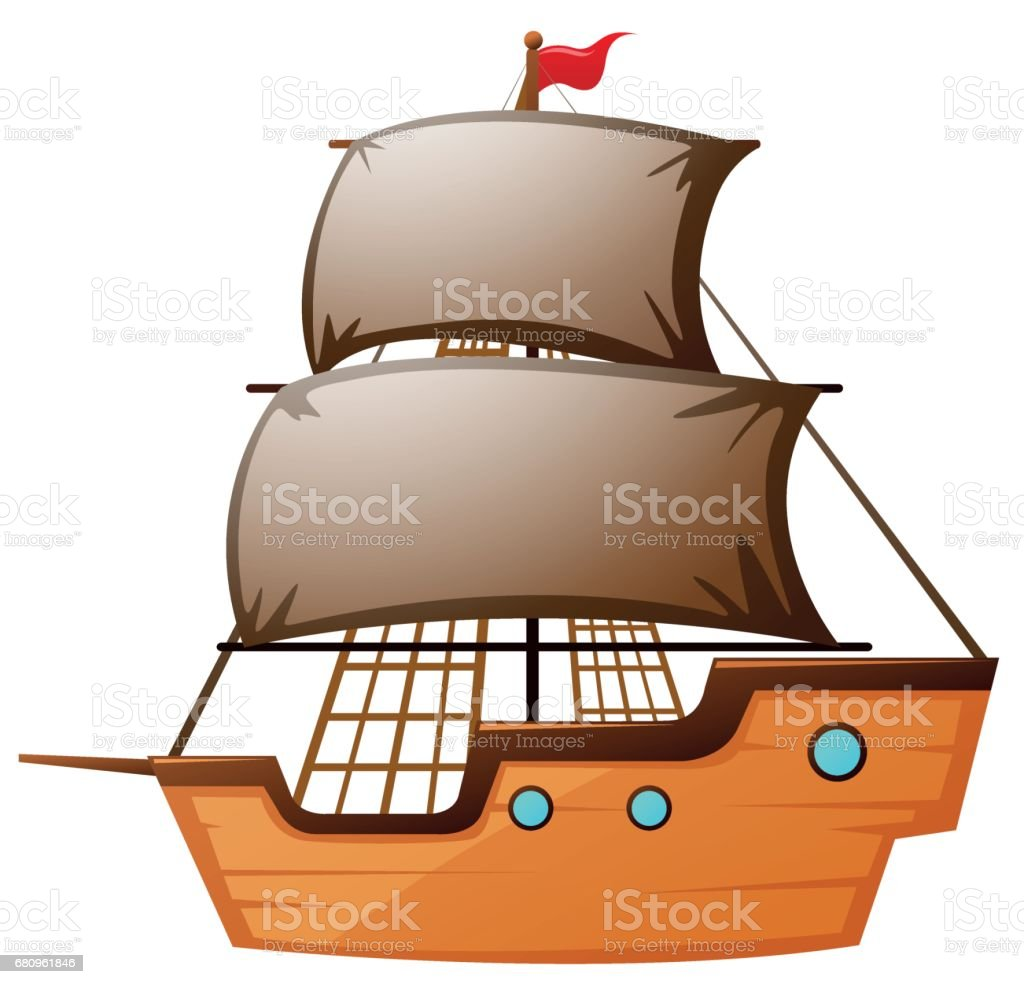 Sailboat made of wood royalty-free sailboat made of wood stock vector art & more images of antique