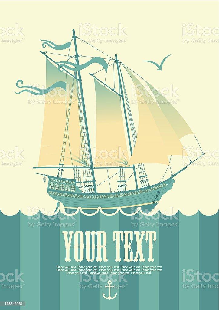sailing boat royalty-free sailing boat stock vector art & more images of adventure