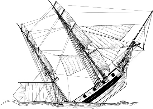 sailing ship wreck