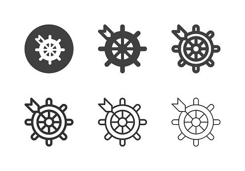 Sailing Target Icons - Multi Series