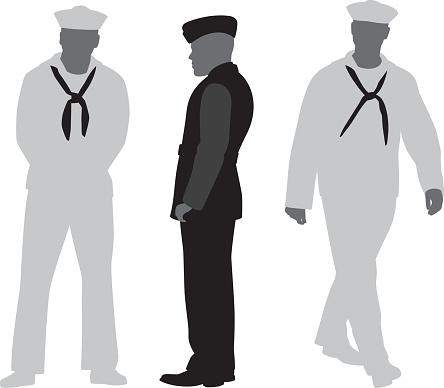Sailor Silhouettes