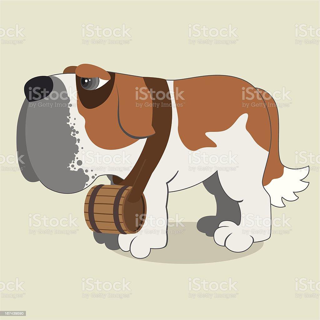 Saint Bernard royalty-free saint bernard stock vector art & more images of animal