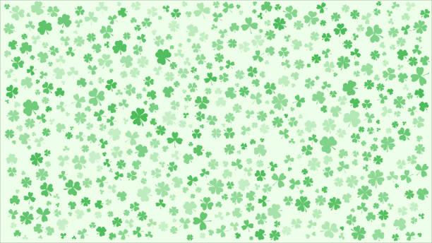 Saint Patrick's day background. Saint Patrick's day background. Maple Leaf. Vector background. shamrock stock illustrations