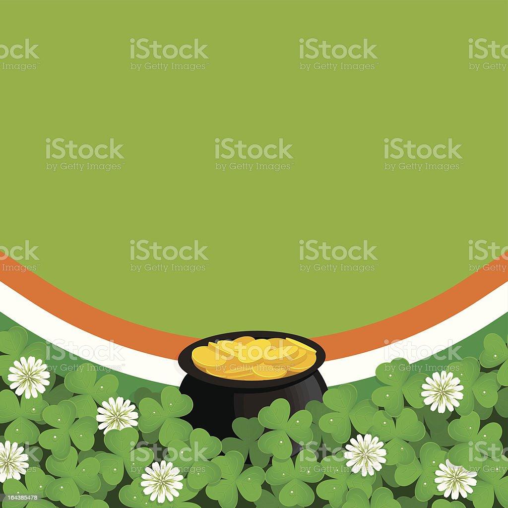 Saint Patrick's Day background royalty-free stock vector art