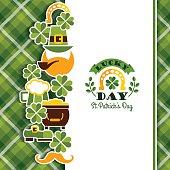 istock Saint Patricks Day baskground. 497104812
